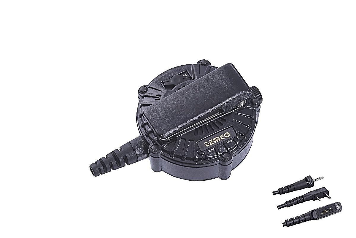 大型PTTボタンインターフェース(無線機給電)