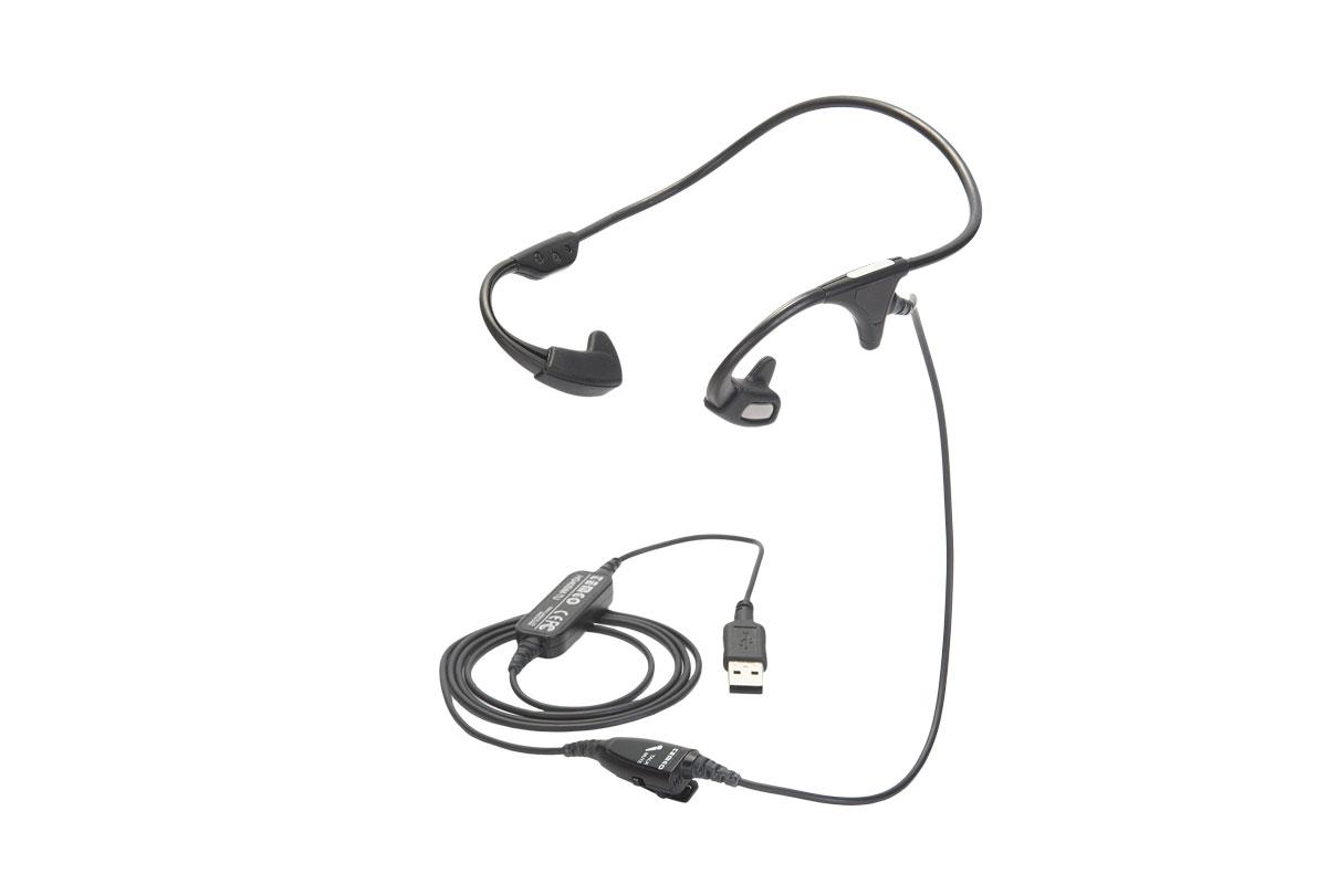 骨伝導ヘッドセット(USB接続)